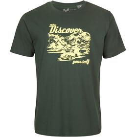 Elkline Discover t-shirt Heren groen